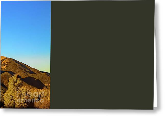 Taos Evening Greeting Card by Jon Burch Photography