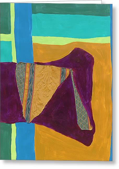 Tapestry II Greeting Card by Dan Houston