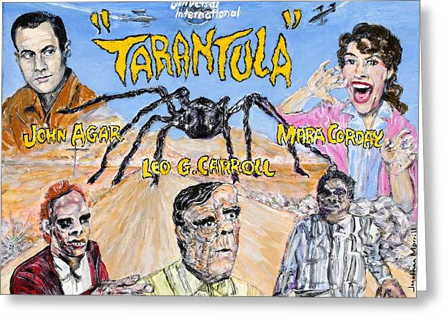 Tarantula 1955 Lobby Card That Never Was Greeting Card by Jonathan Morrill