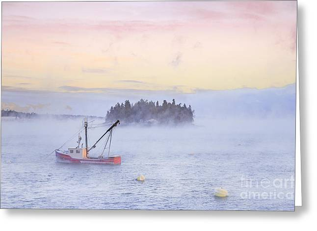 Lubec Greeting Cards - Taste Of Dawn Greeting Card by Evelina Kremsdorf