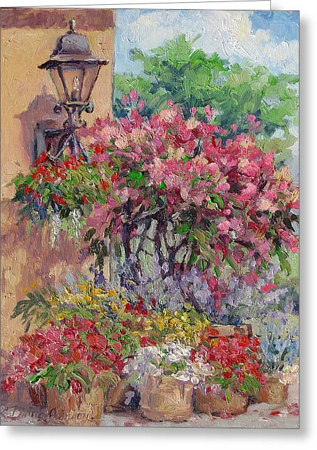 Taste Of Italy Greeting Card by L Diane Johnson