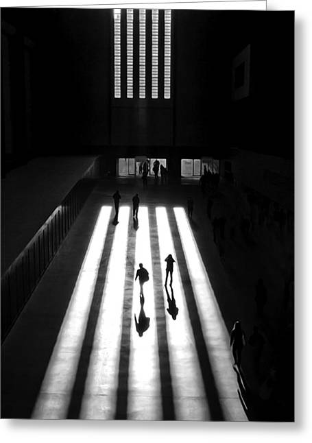 Modern Photographs Greeting Cards - Tate Greeting Card by Reflexio