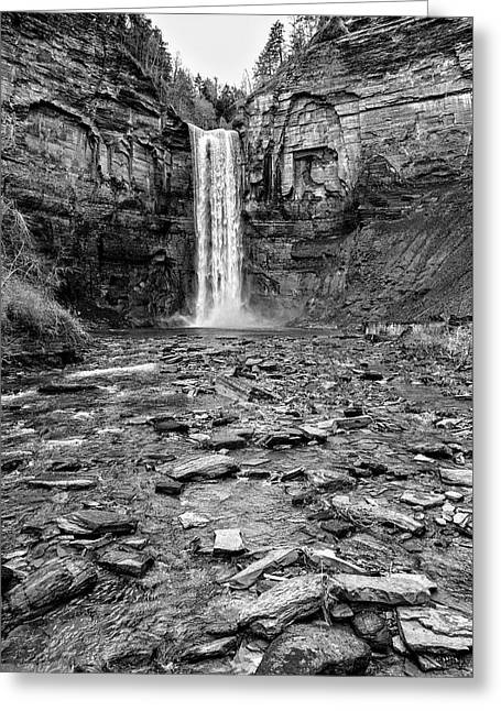 Taughannock Falls State Park Greeting Card by Stephen Stookey