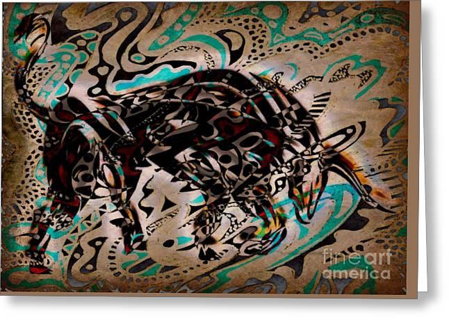Taurus Greeting Card by WBK