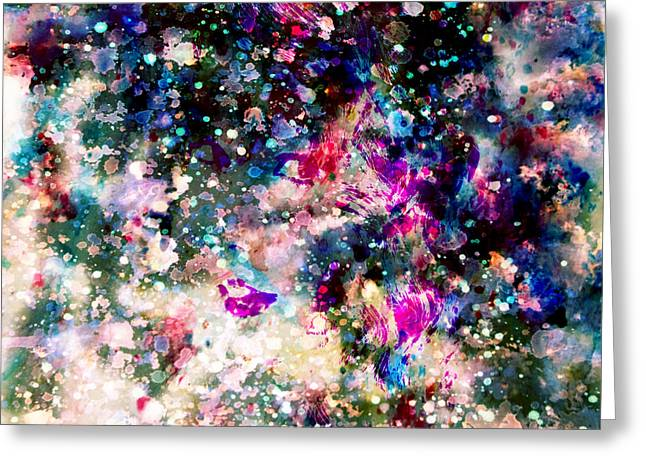 Recently Sold -  - Pop Singer Greeting Cards - Taylor Swift Paint Splatter Greeting Card by Brian Reaves