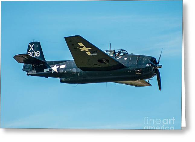 Tbf Greeting Cards - TBF Avenger Greeting Card by Steve Whalen