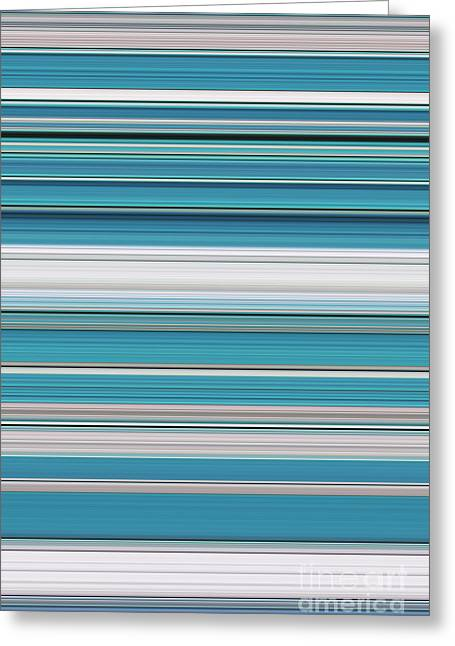 Teal Greeting Card by Tim Gainey