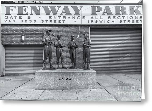 Baseball Art Photographs Greeting Cards - Teammates II Greeting Card by Clarence Holmes