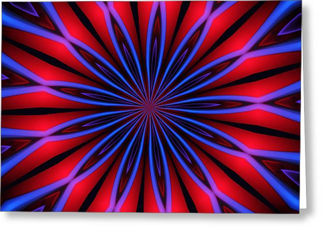 Optical Art Greeting Cards - Ten Minute Art 4 Greeting Card by David Lane