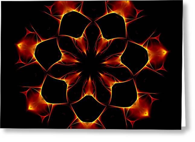 Optical Art Greeting Cards - Ten Minute Art 6 Greeting Card by David Lane