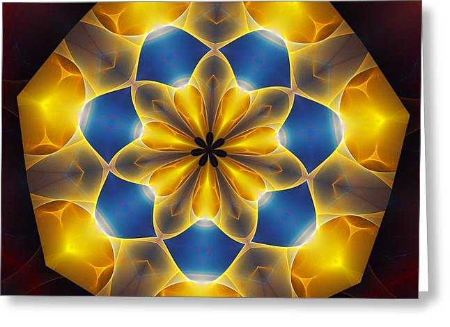 Optical Art Greeting Cards - Ten Minute Art 7 Greeting Card by David Lane