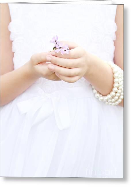 Tenderly Greeting Cards - Tenderly Greeting Card by Stephanie Frey