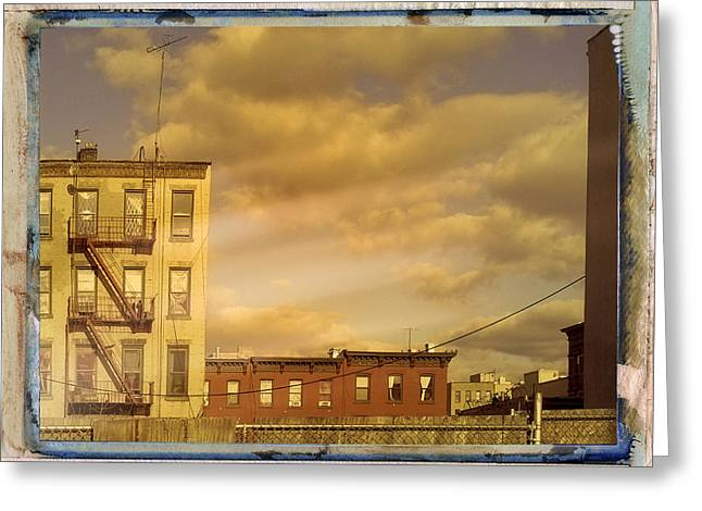 Transfer Greeting Cards - Tenements Greeting Card by Dominic Piperata