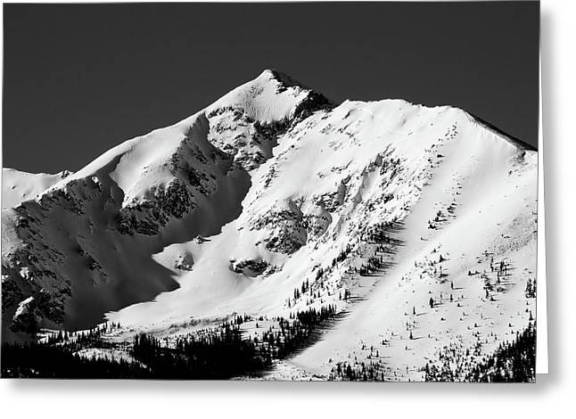 Peak One Greeting Cards - Tenmile Peak in Summit County Colorado Greeting Card by Brendan Reals