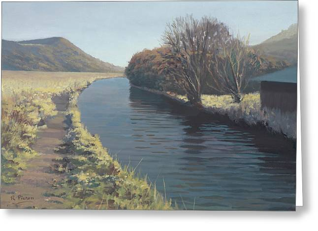 Welsh Waterways Greeting Cards - Tennant Canal Greeting Card by Richard Picton