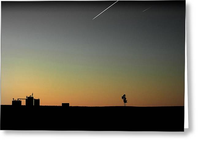 Tennessee Farm at Dusk Greeting Card by Todd Fox