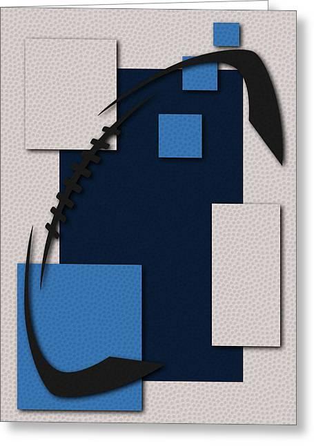 Tennessee Titans Football Art Greeting Card by Joe Hamilton