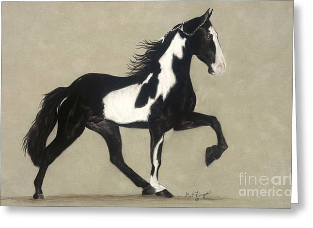 Tennessee Walker Greeting Card by Gail Finger