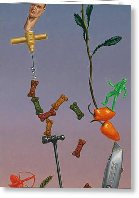 Balance Greeting Cards - Tenuous Still-Life 3 Greeting Card by James W Johnson