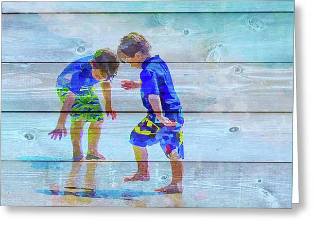 A Summer To Remember Ivb Greeting Card by Susan Molnar