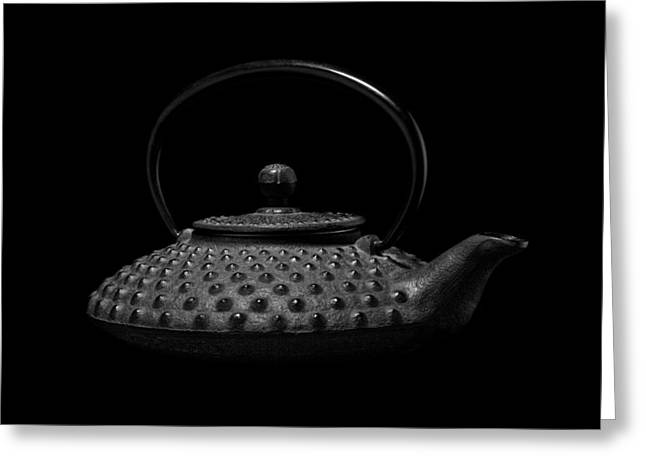Kitchen Utensils Greeting Cards - Tetsubin Teapot Greeting Card by Tom Mc Nemar