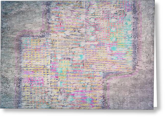 Coloured Greeting Cards - Textures 5 Greeting Card by Dorothy Berry-Lound