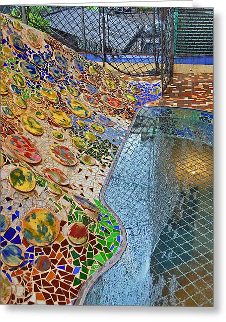 Rosary Greeting Cards - Textures. Gaudi. Greeting Card by Andy Za