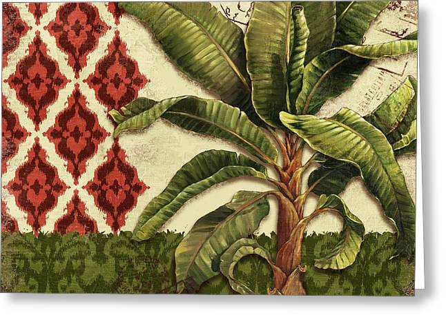 Thai Palm I Greeting Card by Paul Brent