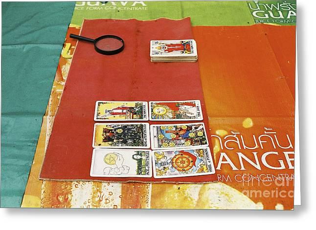 Thai Tarot Fortune Teller  Greeting Card by Dean Harte
