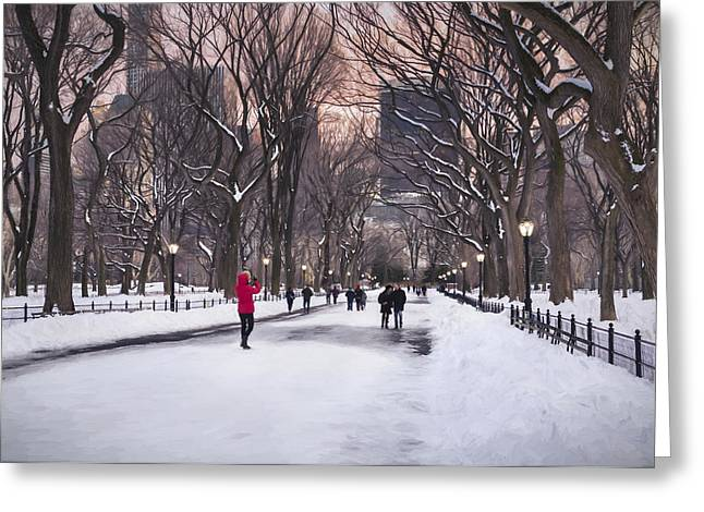 The Nature Center Greeting Cards - That Kodak moment Impressionism Greeting Card by Eduard Moldoveanu