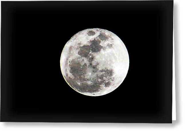 March Moon Greeting Cards - The 2011 Moon Greeting Card by Amanda Vouglas