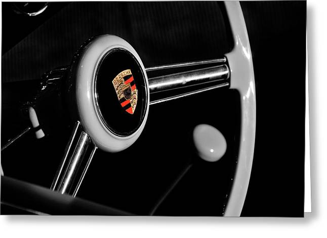 The 356 Interior Greeting Card by Mark Rogan