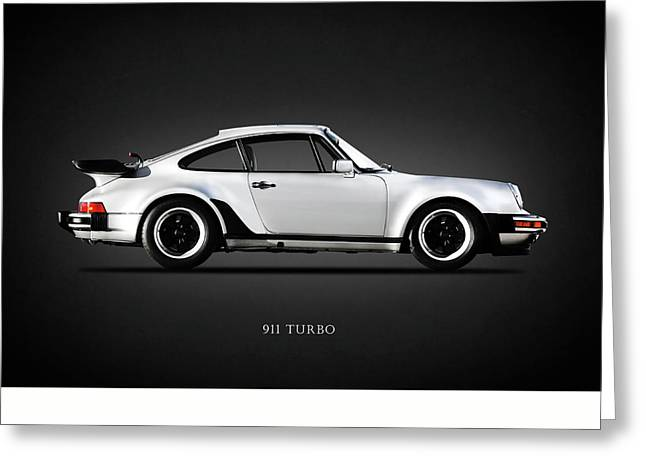 The 911 Turbo 1984 Greeting Card by Mark Rogan