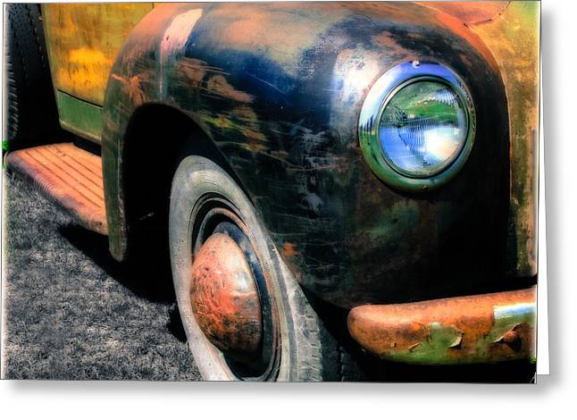 Old Trucks Greeting Cards - The Age of Trucks  Greeting Card by Steven  Digman