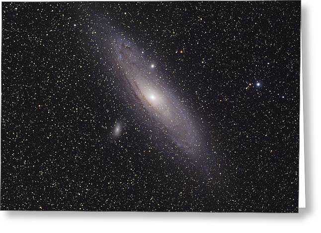 The Andromeda Galaxy Greeting Card by Phillip Jones