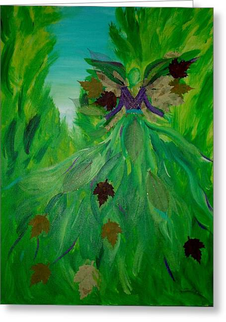 Angels Breath Greeting Cards - The Angel of Spring Greeting Card by Milagros Phillips