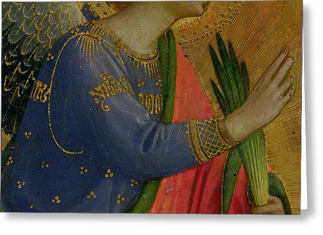 The Angel Of The Annunciation Greeting Card by Fra Angelico