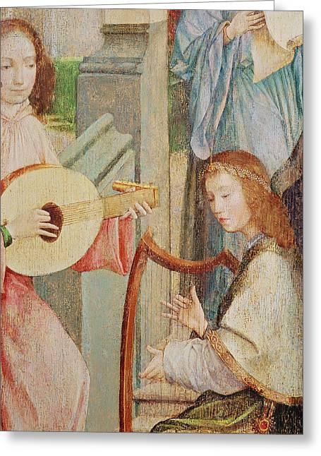 The Annunciation Greeting Card by Taborda Vlame Frey Carlos