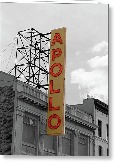 The Apollo In Harlem Greeting Card by Danny Thomas