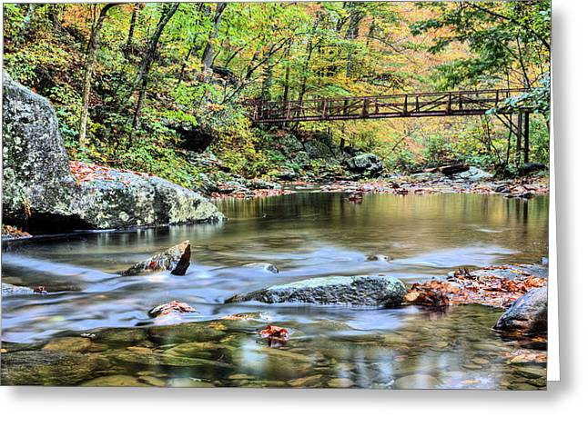 The Appalachian Trail Greeting Card by JC Findley