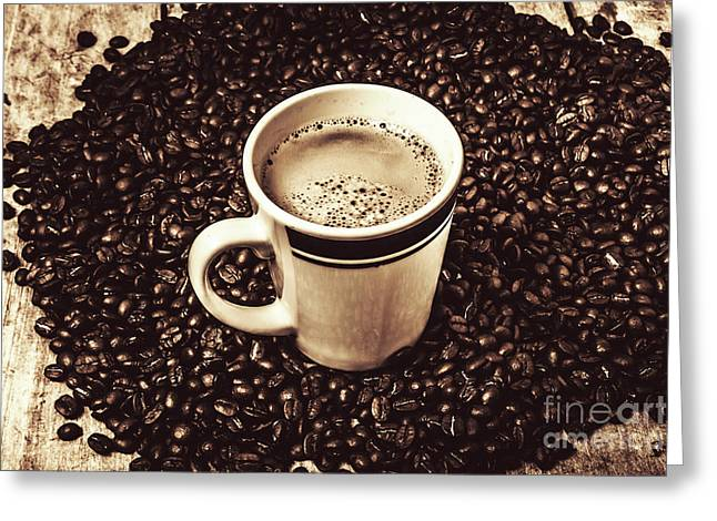 The Art Of Brewing Greeting Card by Jorgo Photography - Wall Art Gallery