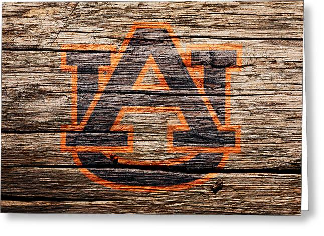 The Auburn Tigers 1a Greeting Card by Brian Reaves