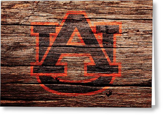The Auburn Tigers Greeting Card by Brian Reaves