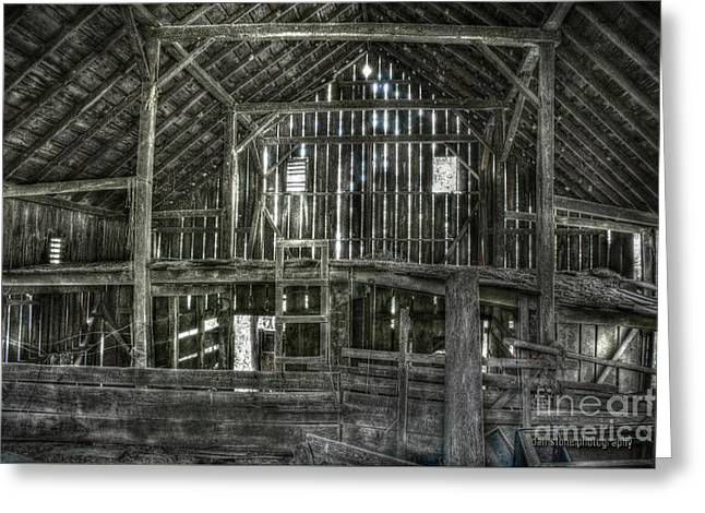 Wooden Building Greeting Cards - The Barn Greeting Card by Dan Stone