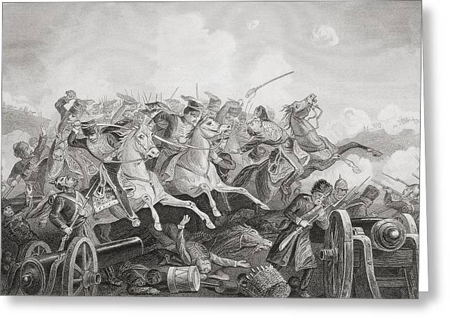 Balaclava Greeting Cards - The Battle Of Balaclava Haro Prii Greeting Card by Ken Welsh