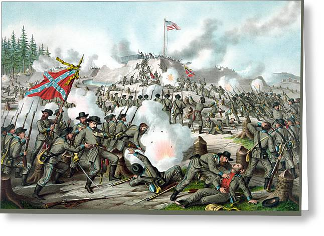 The Battle Of Fort Sanders Greeting Card by War Is Hell Store