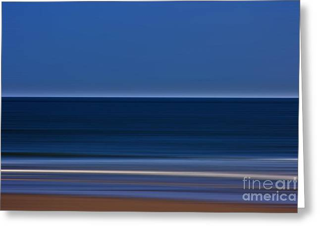 Ocean Art Photography Greeting Cards - The Beach Abstract Greeting Card by Tom Gari Gallery-Three-Photography