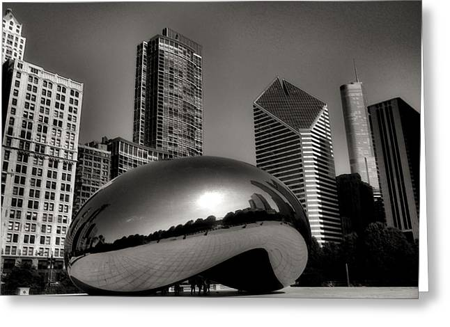 The Bean Greeting Cards - The Bean - 4 Greeting Card by Ely Arsha