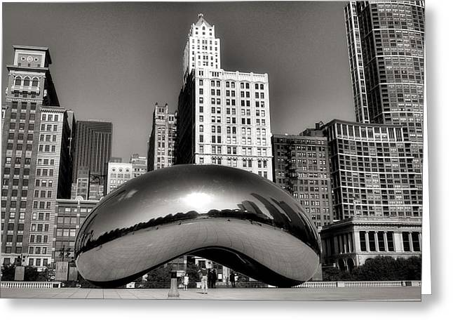The Bean Greeting Cards - The Bean - 3 Greeting Card by Ely Arsha