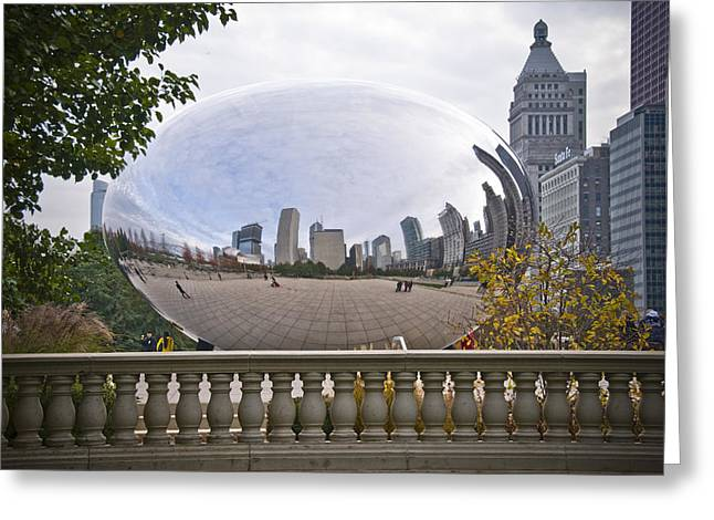 The Bean Greeting Cards - The Bean Greeting Card by Eric Miller